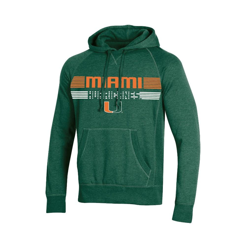Miami Hurricanes Men's Hoodie - S, Multicolored