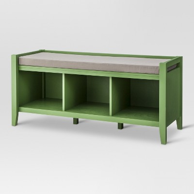 Open Storage Bench - Green - Threshold™