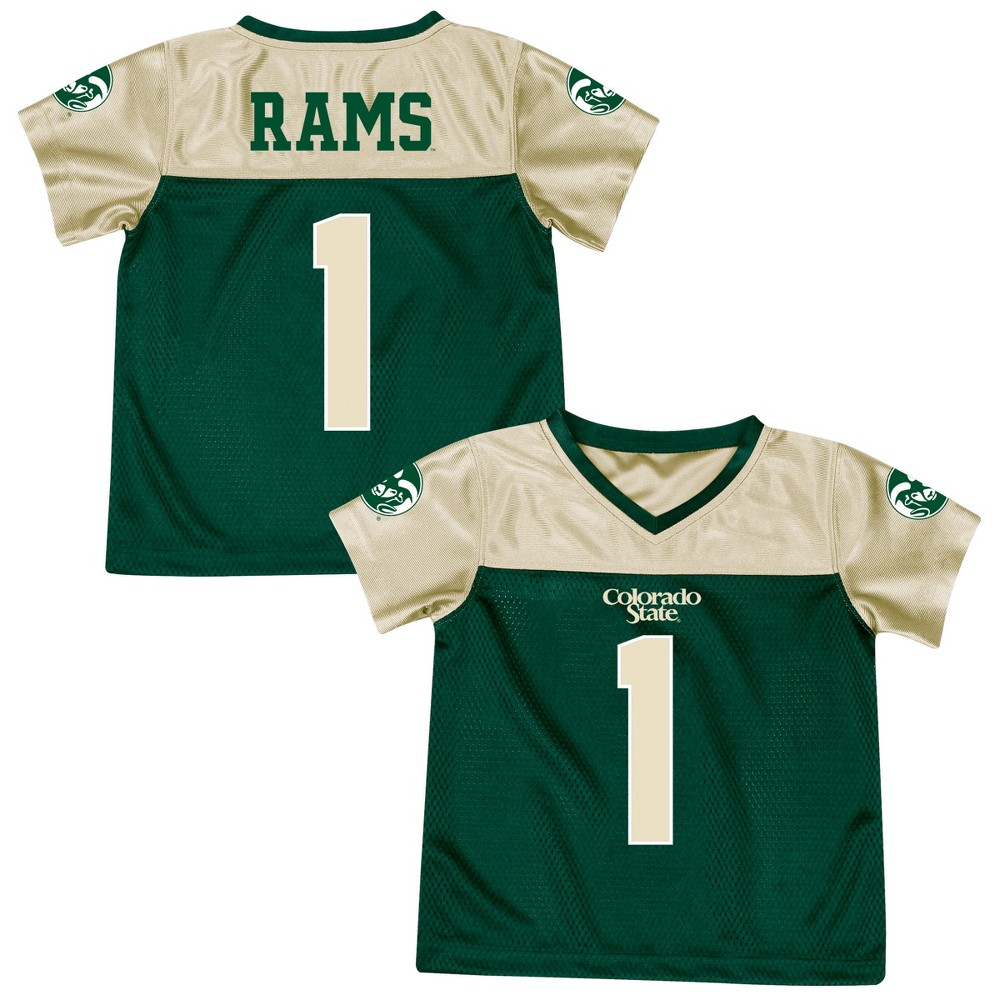 Athletic Jerseys Colorado State Rams 4T, Multicolored