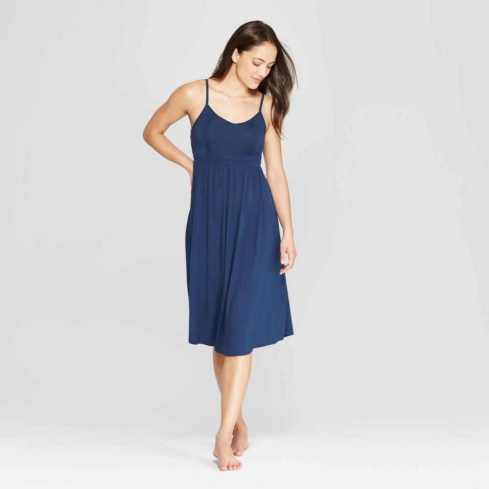 Women's Beautifully Soft Nightgown - Stars Above Navy (Blue) Xxl