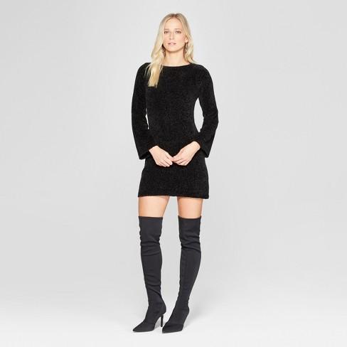 Women's Long Sleeve Chenille Sweater Dress - Xhilaration™ - image 1 of 2