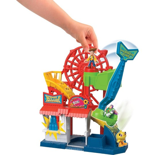 Fisher-Price Imaginext Disney Pixar Toy Story 4 Carnival Playset image number null