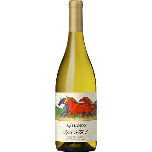 14 Hands Hot to Trot White Blend Wine - 750ml Bottle - image 1 of 3