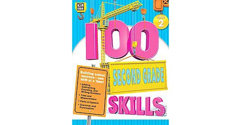 100 Second Grade Skills (Paperback) - image 1 of 1