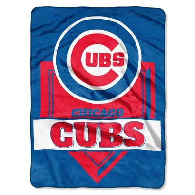 MLB Chicago Cubs Mickey Mouse Throw Blanket and Pillow