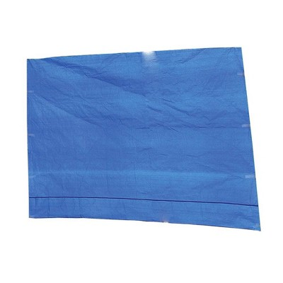 Z-Shade 10 Foot Angled Leg Instant Canopy Tent Taffeta Attachment to Provide Ultimate Shading for Outdoor Events, Blue (Attachment Only)