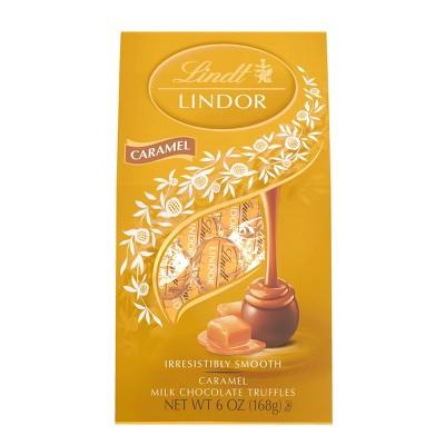 Lindt Lindor Caramel Milk Chocolate Truffles - 6oz