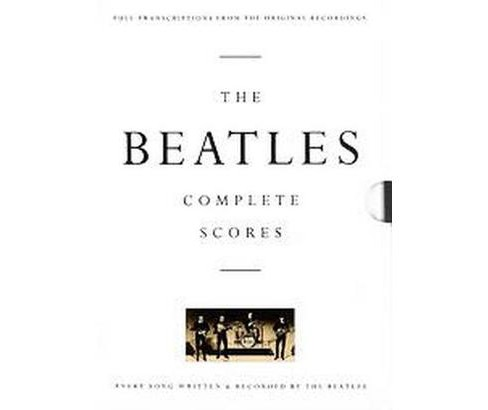 Beatles : Complete Scores (Hardcover) - image 1 of 1