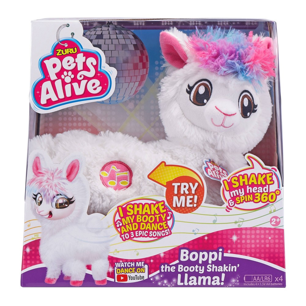 Pets Alive Boppi The Booty Shakin Llama Now $12.99