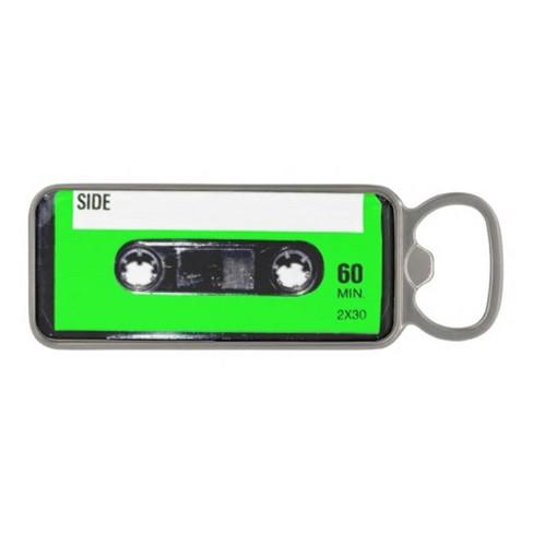 Gamago Cassette Tape Bottle Opener: Green - image 1 of 1