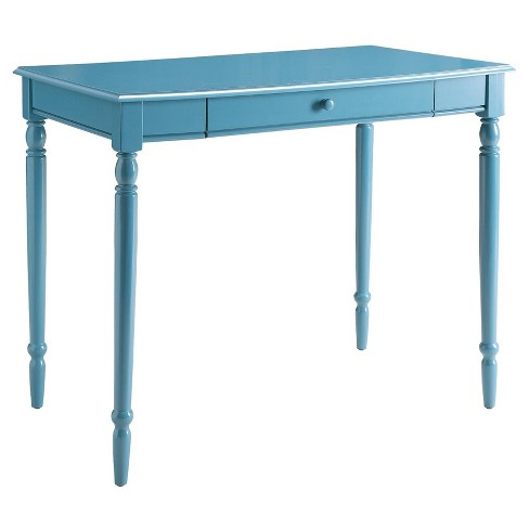 "French Country 36"" Desk - Blue - Convenience Concepts - image 1 of 3"