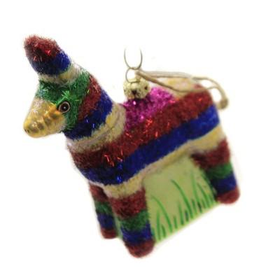 """Holiday Ornaments 5.0"""" Piñata Donkey Party Candy  -  Tree Ornaments"""