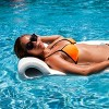 TRC Recreation Sunsation 70 Inch Foam Raft Lounger Pool Float, Blue Wave White - image 4 of 4