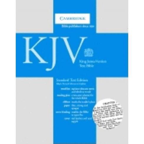 Standard Text Bible-KJV - (Leather_bound) - image 1 of 1