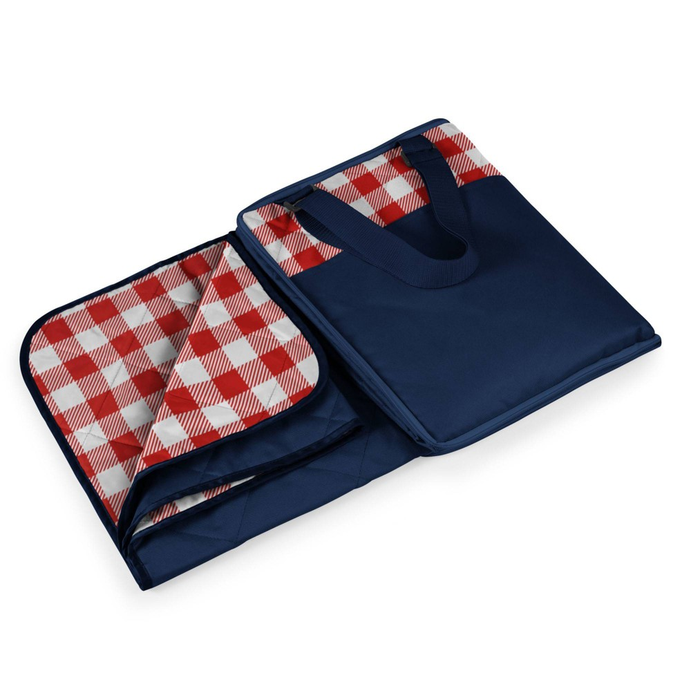 Picnic Time Vista Outdoor Picnic Blanket Red