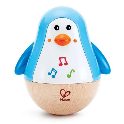 Hape Penguin Musical Wobbler Toy - image 1 of 4