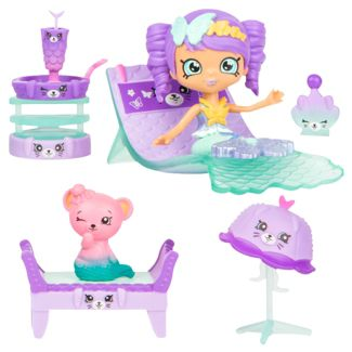 Happy Places Shopkins Mermaid Tails Surprise Me Pack - Hot Springs Day Spa