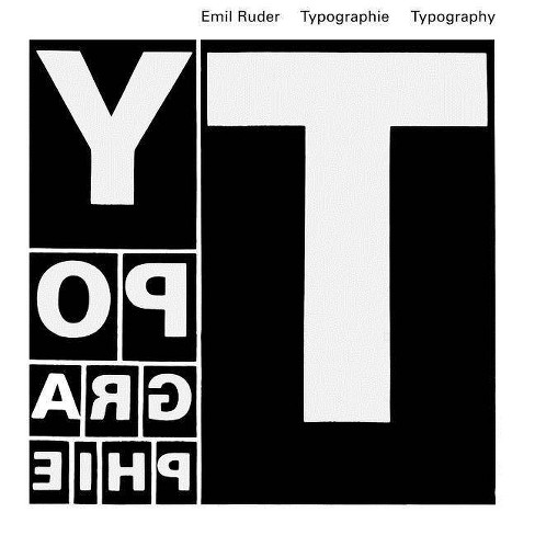Typographie - 4 Edition by  Emil Ruder (Hardcover) - image 1 of 1