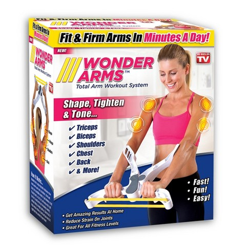 As Seen on TV  Wonder Arms Workout System White - image 1 of 2