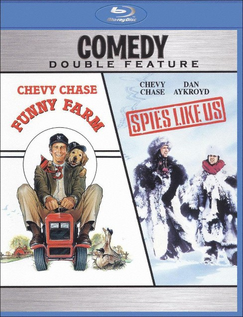 Funny farm/Spies like us (Blu-ray) - image 1 of 1