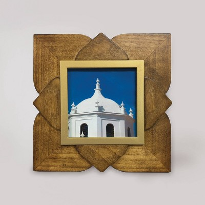 "4"" x 4"" Maya Frame Light Brown - Opalhouse™"