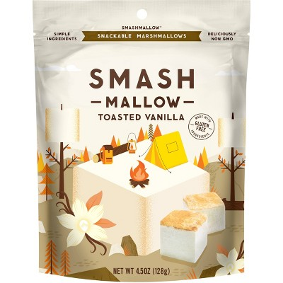 SmashMallow Toasted Vanilla Marshmallow  – 4.5oz