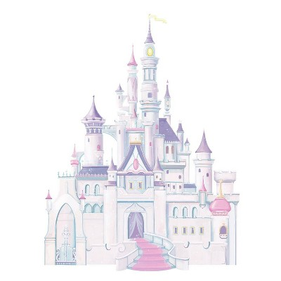 Disney Princess Princess Castle Peel and Stick Giant Wall Decal
