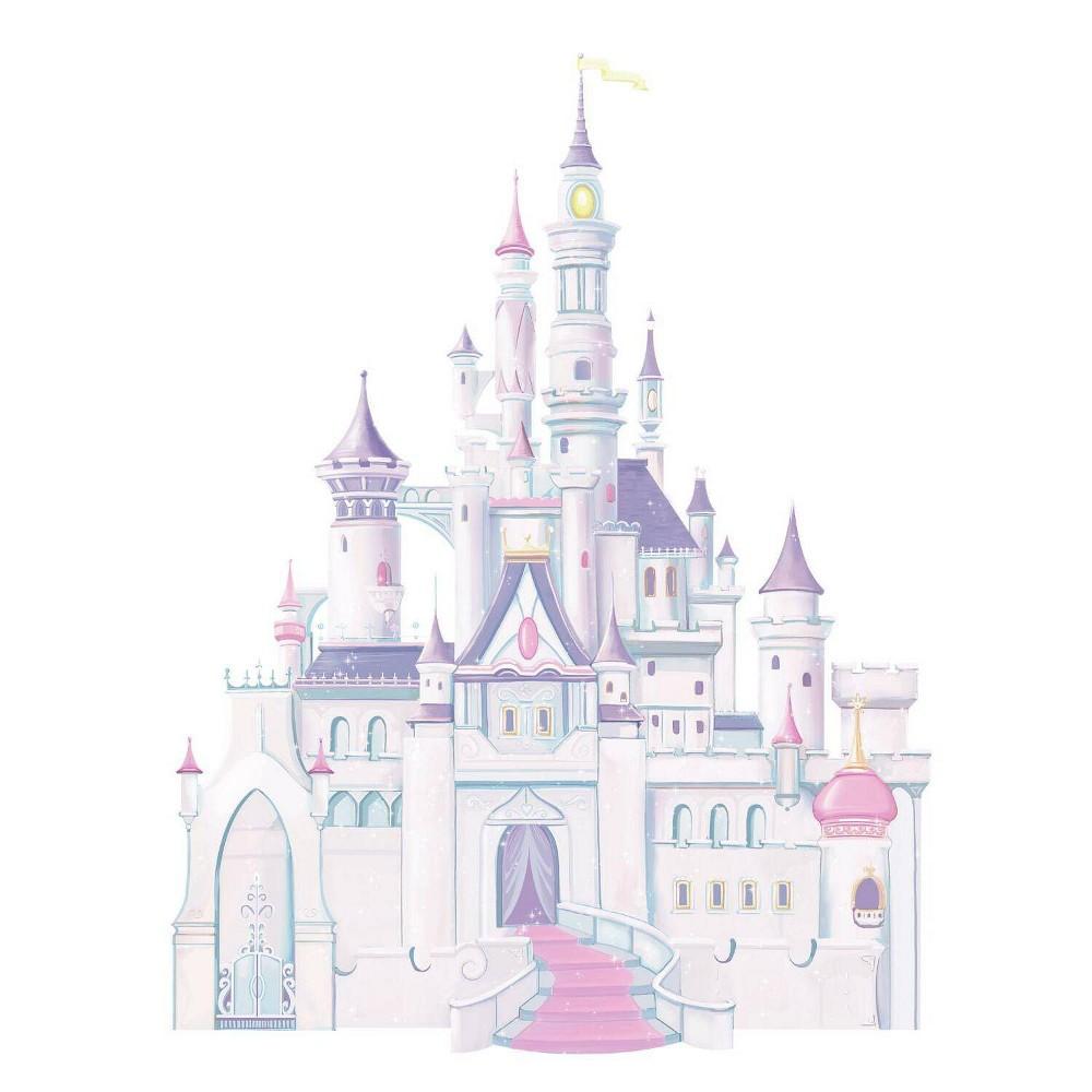 Disney Princess Princess Castle Peel And Stick Giant Wall Decal