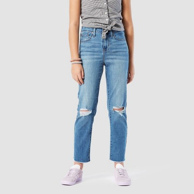 DENIZEN® from Levi's® Girls' Ankle Straight High-Rise Jeans