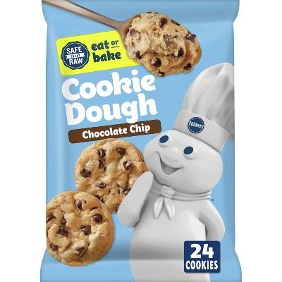 Pillsbury Chocolate Chip Cookie Dough - 16oz/24ct