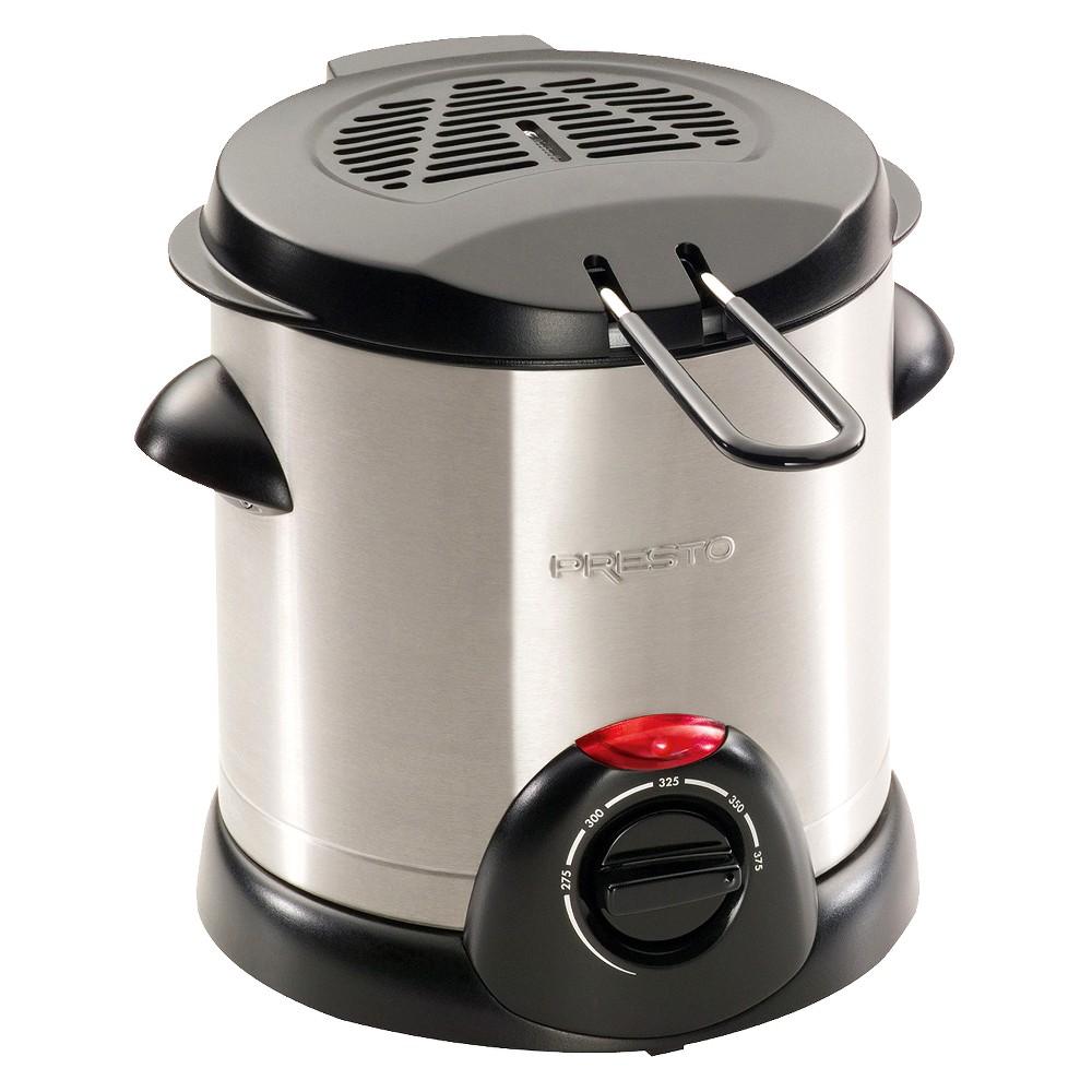 Presto Electric 1qt Deep Fryer – Silver – 05470 12833912