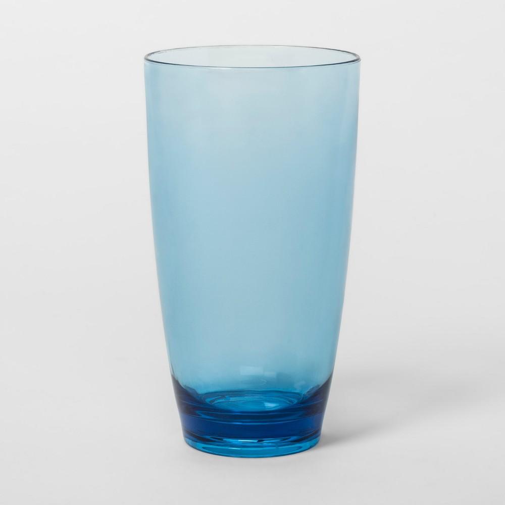 Acrylic Tall Tumbler 17oz Blue - Threshold