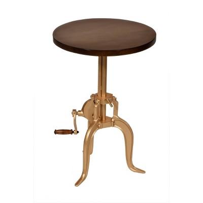 Emma Adjustable Crank Accent Table - Carolina Chair & Table