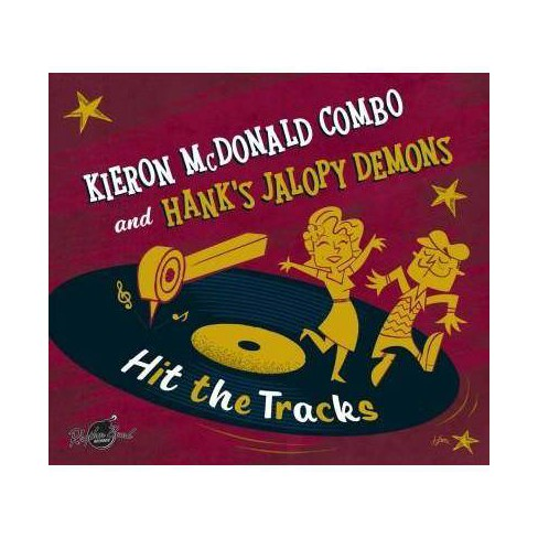 Kieron McDonald - Hit The Tracks (Vinyl) - image 1 of 1
