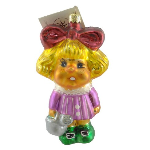 Christopher Radko Daisy Darling Ornament Watering Can Blonde - image 1 of 2