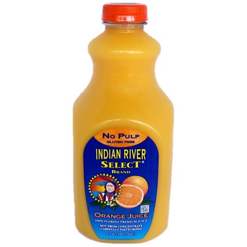 Indian River Select Orange Juice No Pulp Gluten Free - 59 oz - image 1 of 4