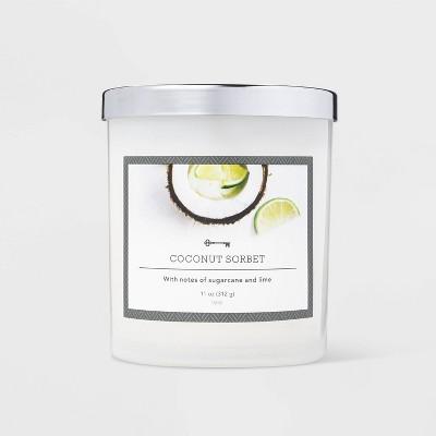 11oz Jar Coconut Sorbet Candle - Threshold™