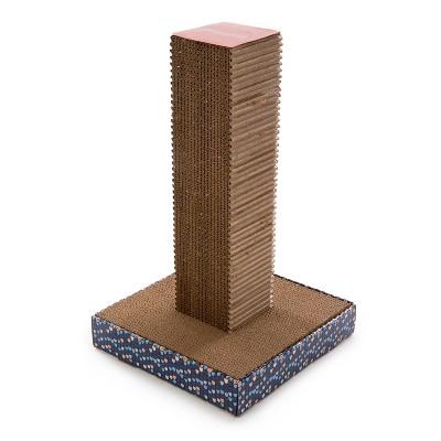 SmartyKat Tower Corrugate Cat Scratch Toy