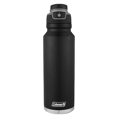 Coleman 40oz Autoseal FreeFlow Stainless Steel Insulated Water Bottle - Black
