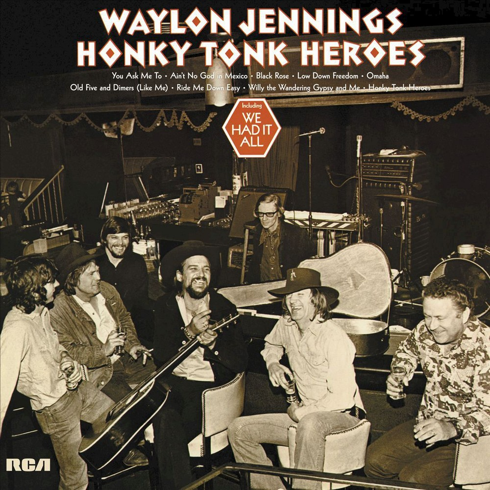 Waylon Jennings - Honky Tonk Heroes (Vinyl)