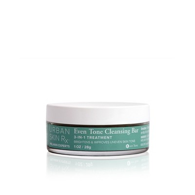 Urban Skin Rx 3-in-1 Even Tone Travel Size Facial Cleansing Bar - 1oz