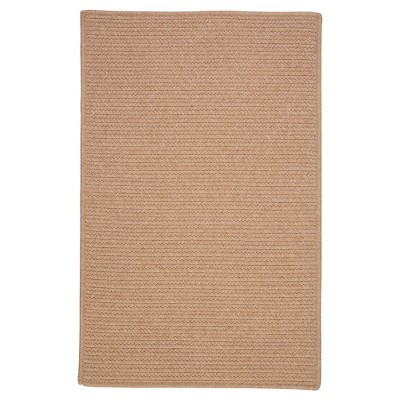 Westminster Wool Blend Braided Area Rug - Oatmeal - (8'x11')- Colonial Mills