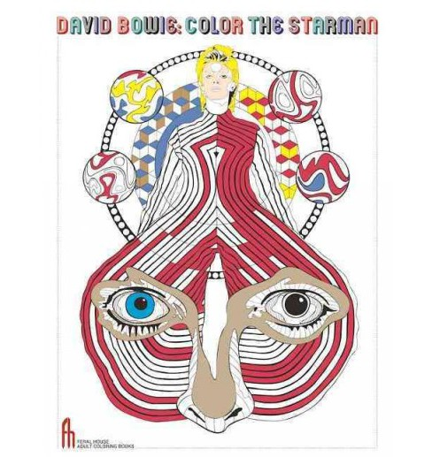 David Bowie Color the Starman (Paperback) - image 1 of 1