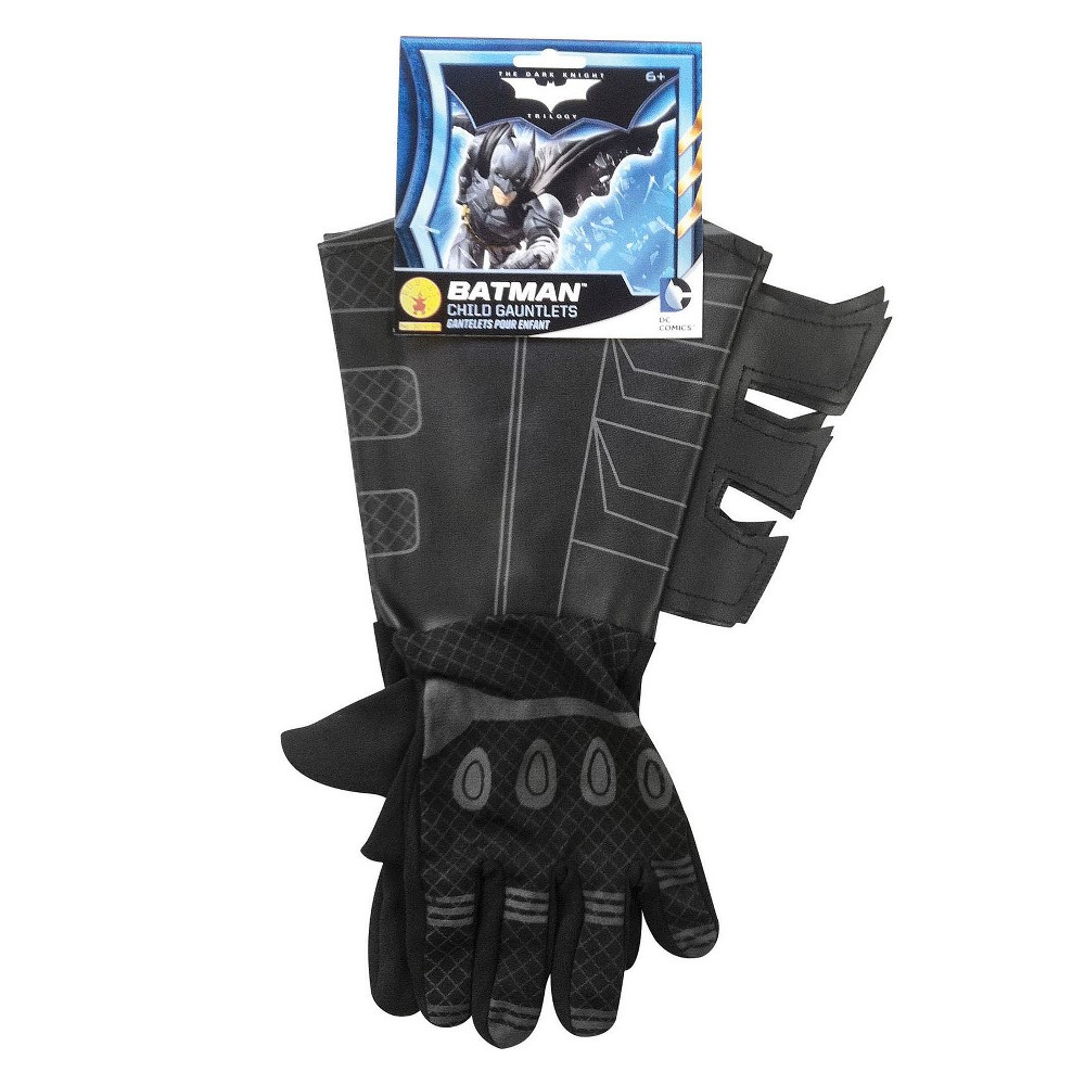 Image of Batman Boys' Gauntlets Halloween Accessory - Rubie's, Boy's