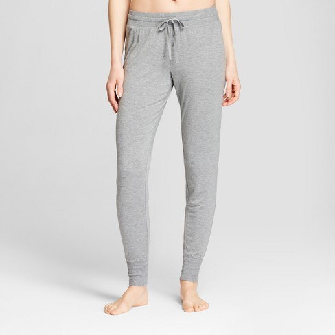 Women's Total Comfort Jogger Pajama Pants - Gilligan & O'Malley™ Medium Heather Gray - image 1 of 2