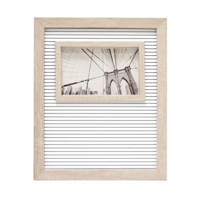 6 x4  Letter Board Frame Decorative Wall Art White - Room Essentials™