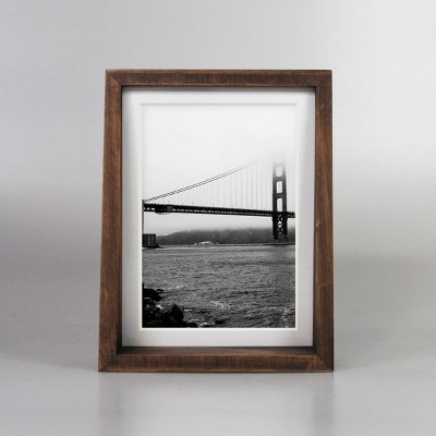 "6"" x 8"" Matted to 5"" x 7"" Frame Tabletop Stained Walnut - Project 62™"