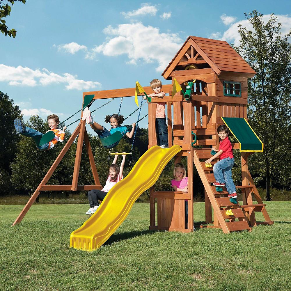 Swing-N-Slide Jamboree Fort Play Set, Multi-Colored