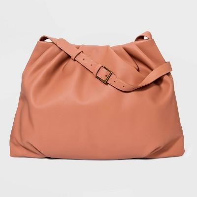 Pleated Shoulder Handbag - Universal Thread™