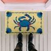 """TAG 1'6"""" x 2'6"""" Crab Coir Doormat Doormat Indoor Outdoor Welcome Mat Coastal Nautical Beach - image 2 of 3"""